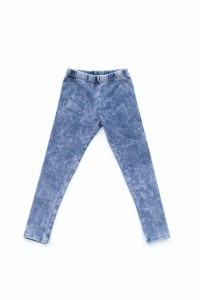 Legginsy Blue Denim